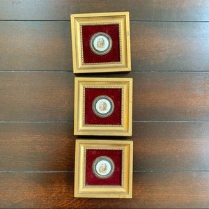 Antique Button Wall Art